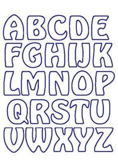Alphabet applique templates beautiful fl garden alphabet letter graphics hover to zoom Free Printable Alphabet Templates, Alphabet Letter Templates, Stencil Templates, Letter Patterns, Free Letter Stencils, Applique Templates Free, Printable Stencils, Large Alphabet Stencils, Alphabet Quilt