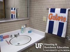 University Of Florida Housing Beaty Hall Bathroom