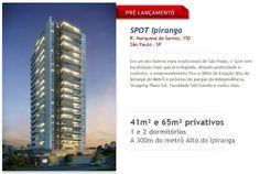 Em um dos bairros mais tradicionais de São Paulo, o Spot tem localização mais que privilegiada. Aliando praticidade e conforto, o empreendimento fica a 300m da Estação Alto do Ipiranga do Metrô e próximo do parque da Independência, Shopping Plaza Sul, Faculdade São Camilo e muito mais.