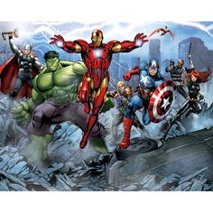Walltastic Avengers Wallpaper Mural