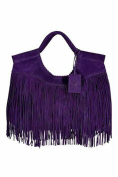 Purple Fringe Purse!