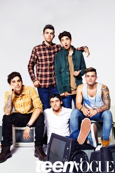 The Janoskians Have Arrived: Here's What Happened When We Hung Out With the World's Wildest Group of Guys