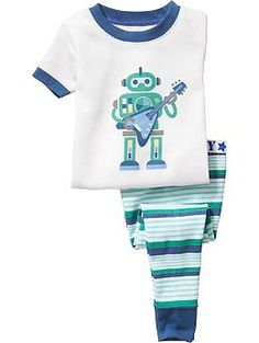 Robot-Graphic PJ Sets for Baby