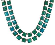 Nak Armstrong | Chrysocolla Necklace in Necklaces Beads at TWISTonline