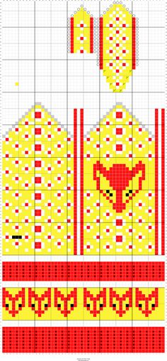 Stitch Fiddle is an online crochet, knitting and cross stitch pattern maker. Stitch Fiddle is an online crochet, knitting and cross stitch pattern maker. Knitted Mittens Pattern, Knit Mittens, Knitting Socks, Crochet Pattern, Knitting Charts, Knitting Stitches, Knitting Patterns, Cross Stitch Pattern Maker, Cross Stitch Patterns