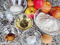 Strudel cu mere Ingrediente Strudel, Plum, Sugar, Cake, Desserts, Food, Tailgate Desserts, Recipes, Kuchen