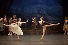 Laurretta Summerscales in the role of Giselle. http://www.ballet.org.uk/giselle/ Photo: © Laurent Liotardo