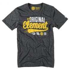 Element The OG Script SS tee-shirt black heather 35€ #element #elementskateboard #teeshirt #tshirt #shirt #tee #tees #shirts #tshirts #teeshirts #skate #skateboard #skateboarding #streetshop #skateshop @PLAY Skateshop