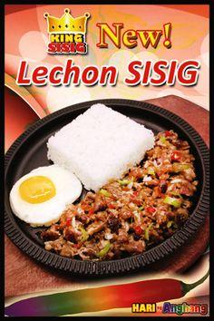 "King Sisig -- Lechon Sisig ""Newest sisig meal!"" #ilovekingsisig"