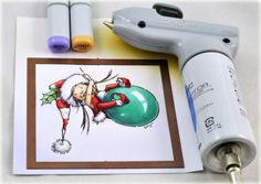 Copic Marker Tutorial by Debbie Olson: 'Tis the Season