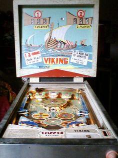 """1971 Viking""""Bally"""" Pinball Machine"""