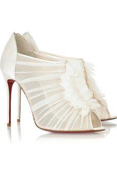 dreamy shoes   Bonita Bride