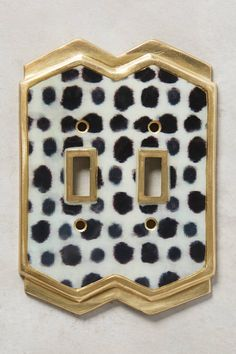 Slide View: 3: Dotted Ames Switch Plate