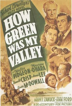 How Green Was My Valley (1941) מה יפית עמק נוי