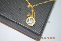 14kt GOLD FILLED Necklace from Israel- Round with stone in the middle #N0010 | eBay Personalized Necklace, Pocket Watch, Israel, Jewelry Watches, Middle, Necklaces, Pendant Necklace, Stone, Gold