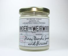 Enjoy the smell of the North with our Under the Weirwood candle. Inspired by…