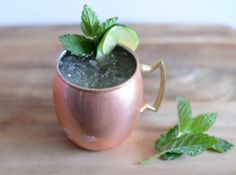 Moscow Mule Recipe.