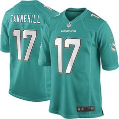 798e653d3c56 Nike Limited Ryan Tannehill Aqua Green Youth Jersey - Miami Dolphins  17  NFL Home