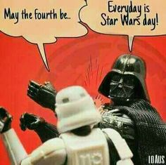 every day is Star Wars day!