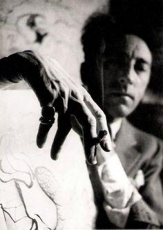 Jean Cocteau by André Papillon.
