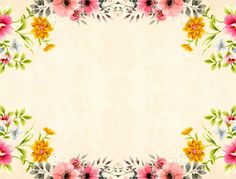 Free Image on Pixabay - Flower, Background, Vintage, Roses Vintage Floral Backgrounds, Background Vintage, Flower Backgrounds, Frame Background, Free Pictures, Free Images, Paw Print Image, Cute Wallpaper For Phone, Make A Donation