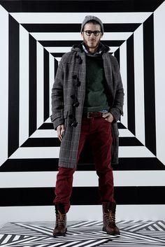 Gant by Michael Bastian Fall 2012 Menswear Fashion Show