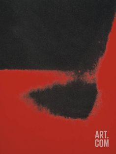 Shadows II, 1979 (red) Art Print by Andy Warhol at Art.com