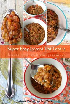 What To Do About Bloating and Farting + Super Easy Instant Pot Lentils #wholefoodplantbased #instantpot