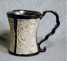 coffee cup, ceramics by shosana parry