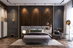 Awesome Luxury Modern Master Bedroom Design will Inspire You - home decor update Modern Luxury Bedroom, Luxury Bedroom Design, Luxury Interior Design, Contemporary Bedroom, Luxurious Bedrooms, Contemporary Design, Contemporary Furniture, Room Design Bedroom, Master Bedroom Interior