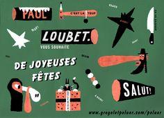 Carte de joyeuse fête de loubet!