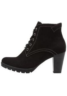 Unifarbene Schnürstiefeletten gehören in jeden modischen Schuhschrank. Tamaris Ankle Boot - black für 41,95 € (05.01.16) versandkostenfrei bei Zalando bestellen.