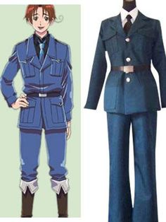 Blue Axis Powers Hetalia Cosplay Lithuania Custome Sell Online