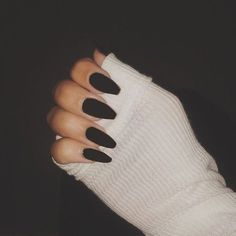 Long nails Best Acrylic Nails - 54 Best Acrylic Nails for 2018 - Hashtag Nail Art Wedding Hair Style Black Acrylic Nails, Black Coffin Nails, Best Acrylic Nails, Summer Acrylic Nails, Matte Nails, Nail Art Long, Long Nails, Long Black Nails, Diy Nail Designs