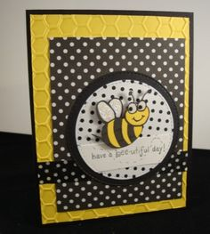 I know another bee card! by YLM - Cards and Paper Crafts at Splitcoaststampers