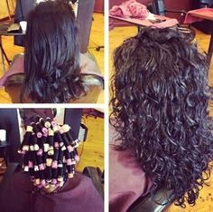 Loose curl perm…now if mine would just come out like this in perms I'd be ecstatic! Loose curl perm…now if mine would just come out like this in perms I'd be ecstatic! Loose Curl Perm, Loose Curls, Loose Spiral Perm, Wavy Hair, New Hair, Medium Hair Styles, Curly Hair Styles, Up Girl, Pretty Hairstyles
