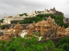 Palitana Jain Temples, Gujarat India