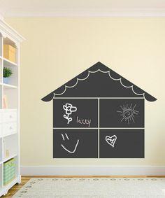 Dollhouse Chalkboard Wall Decal
