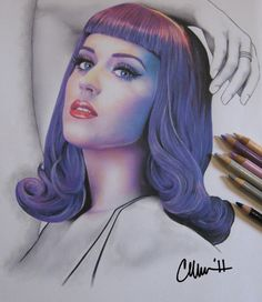 Katy Perry Drawing by ~Live4ArtInLA on deviantART
