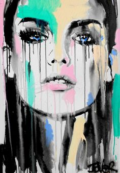 Kai Fine Art is an art website, shows painting and illustration works all over the world. Kunst Inspo, Art Inspo, Art And Illustration, Modern Pop Art, Portrait Art, Face Art, Cool Art, Art Drawings, Saatchi Art