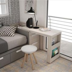 44 best small kitchen design ideas for your tiny space 32 Small Bedroom Ideas Design Ideas Kitchen Small Space Tiny Tiny House Furniture, Space Saving Furniture, Home Furniture, Furniture Design, Furniture Ideas, Space Saving Desk, Boys Bedroom Furniture, Smart Furniture, Space Saver