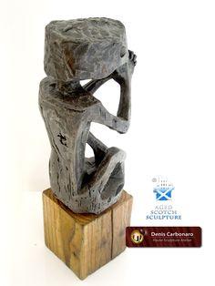 Sculpture title: Votive Ancestor  Author: Denis Carbonaro | Haute Sculpture Atelier© Height 40 cm (15.8 in) Width: 10 cm Depth: 16 cm Weight 2.1 Kg
