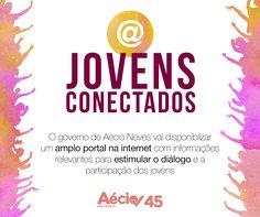 Jovens conectados: Aécio Neves vai criar um amplo portal na internet com informações relevantes para estimular o diálogo e a participação dos jovens.