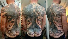 Awesome black and grey made by Durga Tattoo