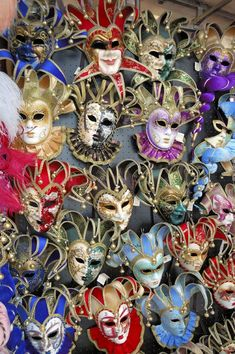 Unmask the Mask Makers of Venice Venetian Masquerade Masks, Venetian Carnival Masks, Carnival Of Venice, Masquerade Ball, Carnival Themes, Party Themes, Edgar Allan Poe, Harlequin Mask, Venice Mask