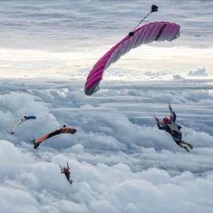 Base Jumping Photography Climbing – Famous Last Words Base Jumping, Bungee Jumping, Adventure Awaits, Adventure Travel, Hang Gliding, Whitewater Kayaking, Ice Climbing, Paragliding, Skydiving