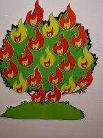 """""""Burning Bush"""" Review Game"""