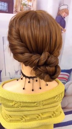 Cute Hairstyles For Women 2020 Part 8 Related Easy Hairstyles for This Spring Break besten mittellangen gewellten Frisuren Easy Hairstyles For Long Hair, Braided Hairstyles Tutorials, Creative Hairstyles, Diy Hairstyles, Updo Hairstyle, Hairstyles Videos, Hairstyles For Women, Greek Hairstyles, Wedding Hairstyles Tutorial