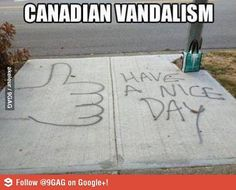 The 29 Most Canadian Things To Ever Canada In Canada -- Because Canada [PHOTOS]: >>> lmao at number Canadian Humor Canadian Things, I Am Canadian, Canadian Humour, Canadian Memes, Canadian Bacon, Funny Quotes, Funny Memes, Jokes, Golf Quotes