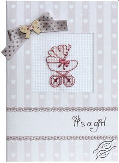 Stroller For Girl - Cross Stitch Kits by Luca-S - SP019